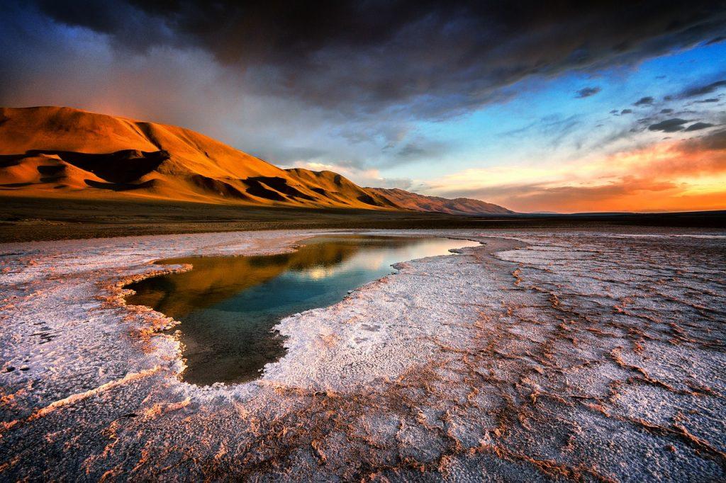 paysages martiens de l'Altiplano cité d'or