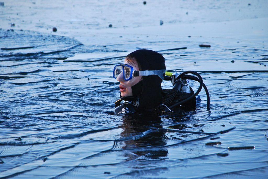 plongee sous la glace