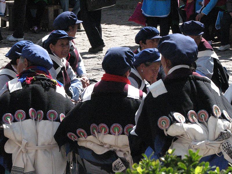 marchéSi Feng Jie lijiang naxi