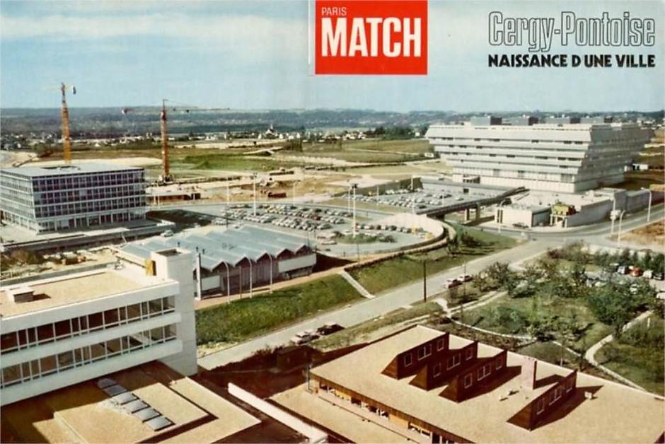 cergy ville du futur des années 70