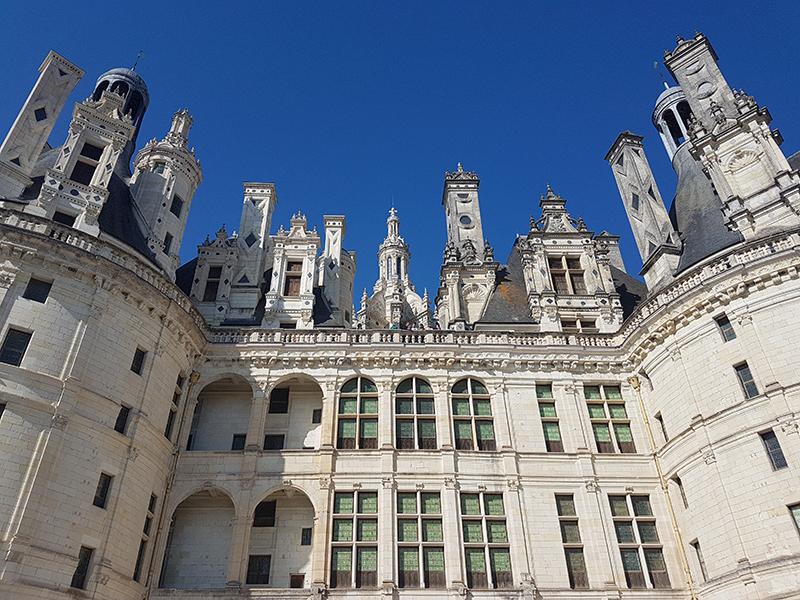 chateau de chambord lenoard de vinci