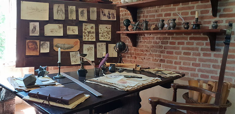 atelier leonard de vinci chateau clos lucé