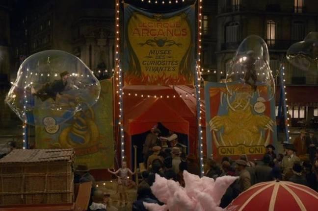 cirque Arcanus s'installe devant la fontaine Saint-Michel
