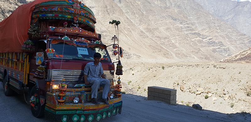 Route du Karakorum Shangri la