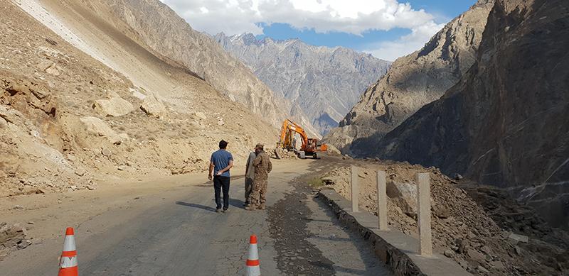 route du Karakorum shangrila