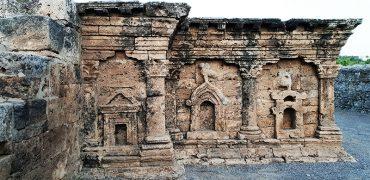 temple grec taxila sirkap