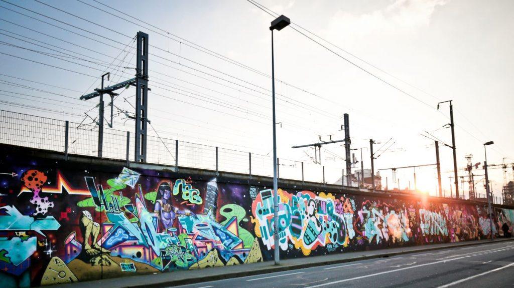 mur boulevard colombier rennes