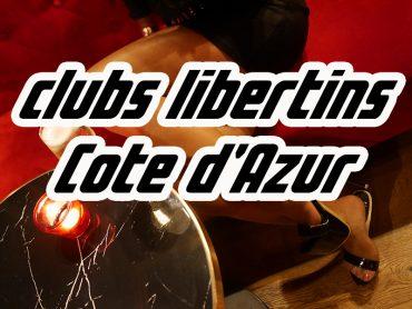 club libertin cote d'azur