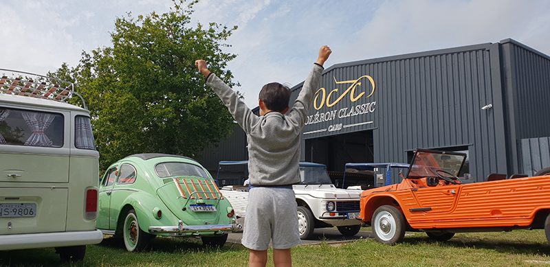 voiture classique vintage oleron