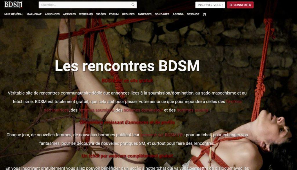 site de rencontre BDSM