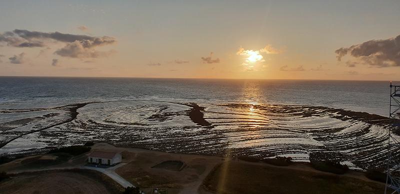coucher de soleil visite phare de chassiron oleron