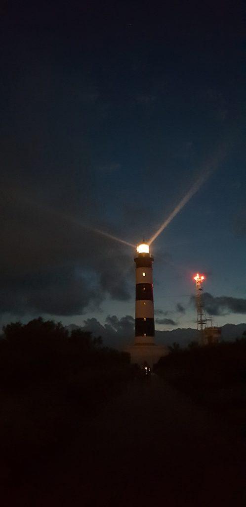 visite du phare de chassiron de nuit