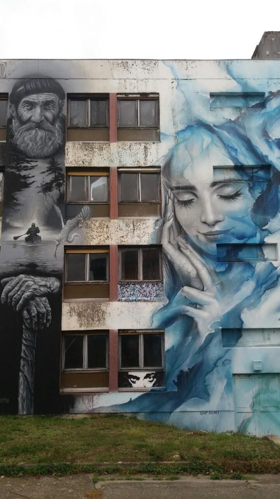 dormir au milieu du street art allier